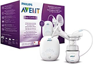 Philips Avent SCF301/02 - Sacaleches, extractor de leche eléctrico confortable, ligero y compacto, con temporizador