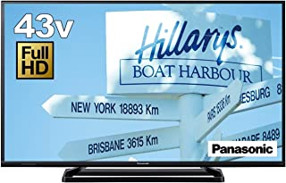 パナソニック 43V型 液晶テレビ ビエラ TH-43D305 フルハイビジョン USB HDD録画対応  2016年モデル