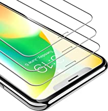 UNBREAKcable Screen Protector for iPhone XS/X [3-Pack] 9H Hardness Tempered Glass for iPhone XS/X Case Friendly 2.5D Round Edge Anti-Bubbles Easy Install Tool 3D Touch Support