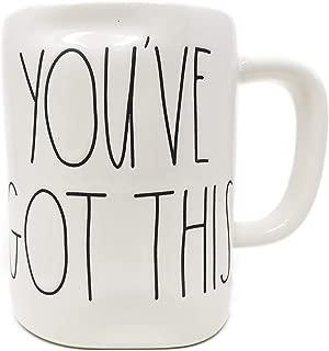 Rae Dunn By Magenta YOU'VE GOT THIS Ceramic LL Coffee Tea Mug 2019 Limited Edition