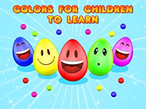 Colors for Children to Learn
