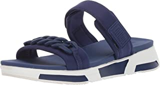 FitFlop Womens W51 Heda Sport Slide - Chain