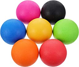 CLISPEED 7Pcs Small Exercise Ball Barre Pilates Ball Workout Ball for Pilates Yoga Core Training and Physical Therapy Bala...