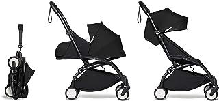 Babyzen YOYO2 Stroller & Newborn Set - Black Frame with Black Fabrics