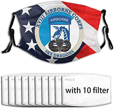 801 18th Airborne Corps Face Shield Mask