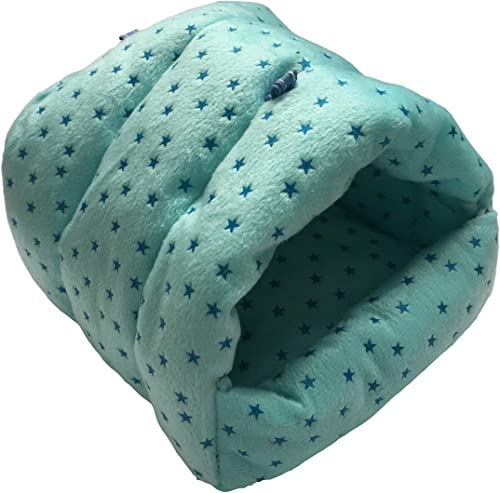 WowowMeow Small Animals Warm Cage Hanging Cave Bed for Chinchillas, Guinea Pigs, Hamsters, Rats, Squirrel and Rabbits...