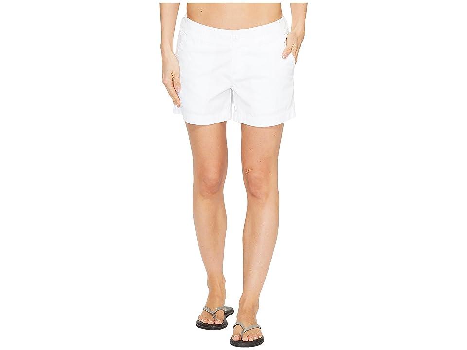 Columbia Compass Ridge Shorts 4 (White) Women