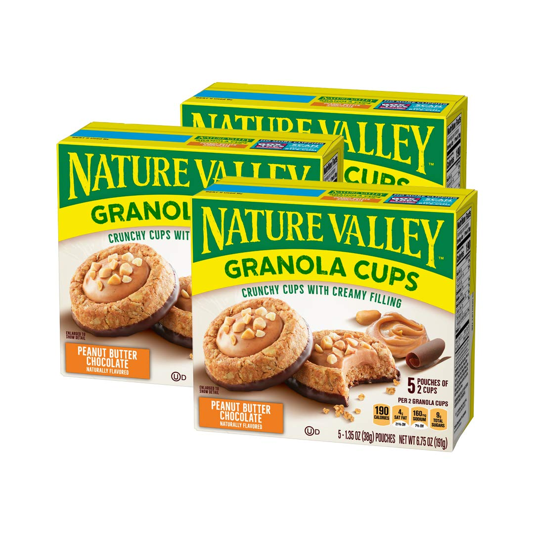 Nature Valley Peak Edition Granola Peanut Cups oz Award 1.35 Butter shop