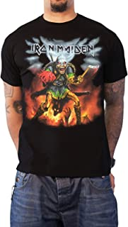 iron maiden nordic tour t shirt
