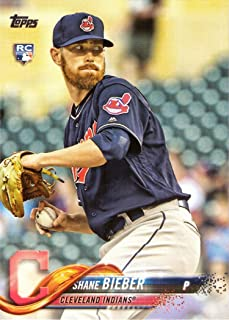 2020 Topps Opening Day #136 Shane Bieber Cleveland Indians Baseball Card