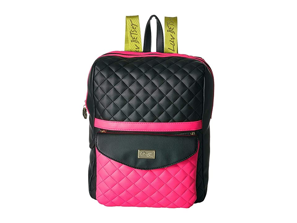 Luv Betsey Lexie Backpack (Neon) Backpack Bags, Yellow
