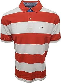 Men's Regular Fit Wide Striped Polo Shirt
