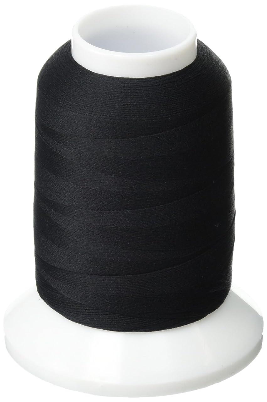 YLI 213YLIBLK Original Woolly Nylon Thread, 1000m, Black