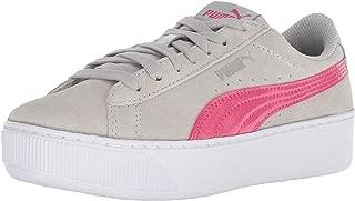 PUMA unisex-kids Vikky Platform Jr Sneaker