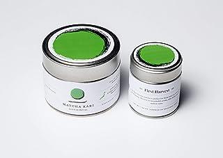 Matcha Kari - Matcha Green Tea Powder - Premium First Harvest - 30g - Makes 30 Servings - Antioxidants, Energy - Authentic Japanese Origin