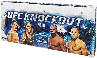 2018 Topps UFC Knockout HOBBY box (4 pk)