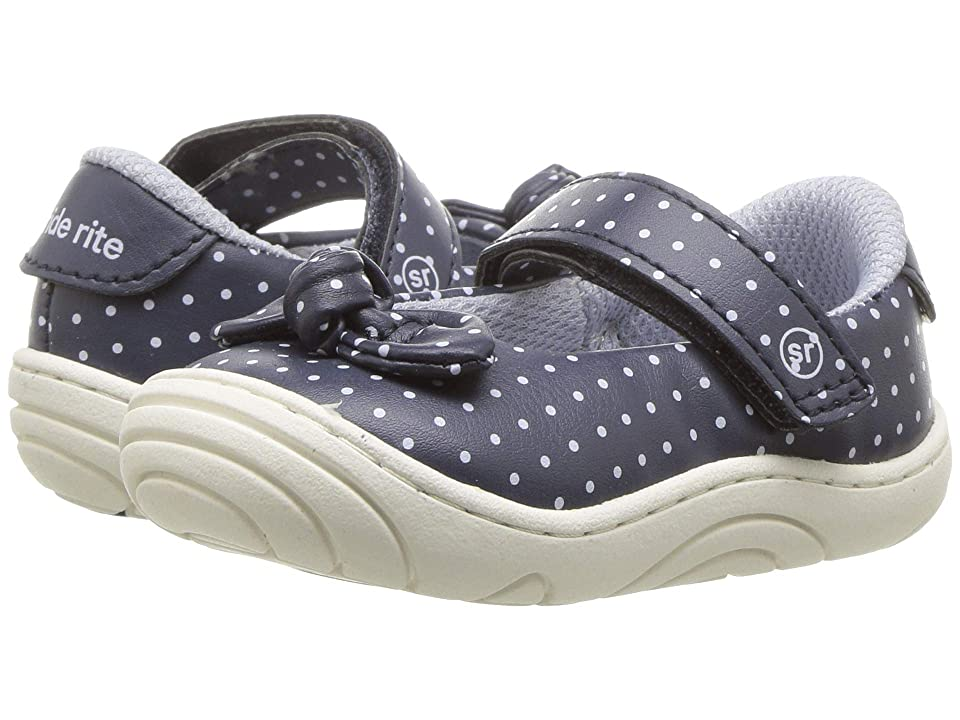 Stride Rite Lily (Infant/Toddler) (Navy) Girl