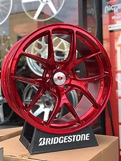 """IPW W005 20x9.5 5x114.3 35mm Red Wheel Rim 20"""" Inch"""