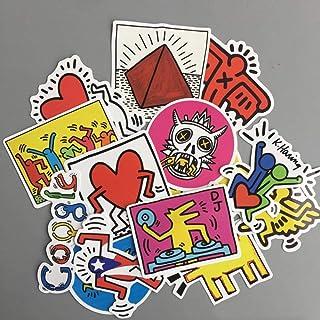 Adesivi Murali Keith Haring.Amazon It Haring Keith Decorazioni Per Interni Casa E Cucina
