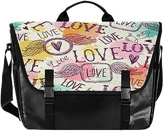 Love Is Colorful - Bolso de lona para hombre y mujer, diseño retro