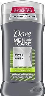 Dove Men+Care Deodorant Stick with ¼ Moisturizer Extra Fresh 48 Hour Odor Protection 3 oz