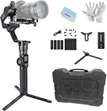 FeiyuTech AK2000 3-Axis Gimbal Stabilizer for Sony Canon 5D Panasonic GH5 GH5S Nikon D850 Mirrorless & DSLR Digital Camera Smart Touch Panel WiFi Bluetooth Connection Hunting Mode 2.8kg Payload