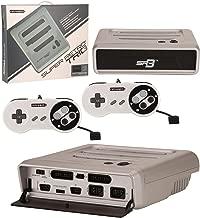 Retro-Bit Super RetroTRIO - Console - NES/SNES/Genesis - 3-in-1 System - Silver/Black