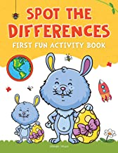 Spot The Difference: First Fun Activity Books for Kids