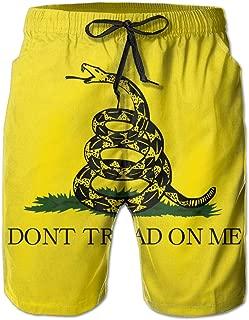 Don't Tread On Me Gadsden Flag Men's Board Shorts Beach Swim Shorts Workout Shorts