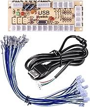 Quimat Zero Delay Arcade USB Encoder PC to Joystick for Mame Jamma & Other PC Fighting Games