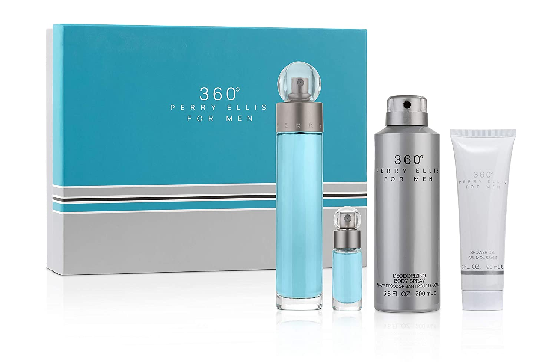 Perry Ellis store Fragrances 360 for Gift Men 4-piece Set Tulsa Mall