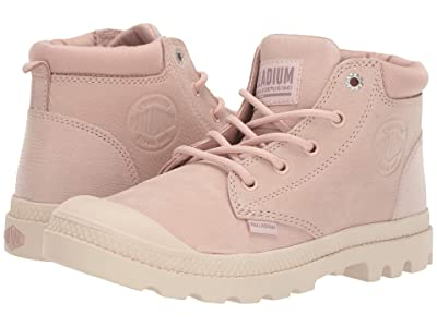 Palladium Pampa Lo Cuff Leather (Rose Dust/Sand Dollard) Women