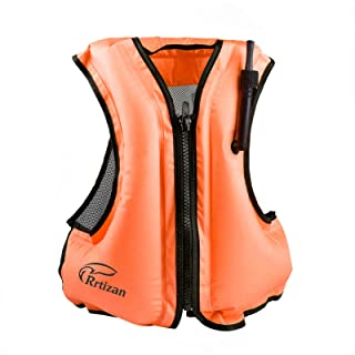 Rrtizan Swim Vest for Adults, Buoyancy Aid Swim Jackets – Portable Inflatable..