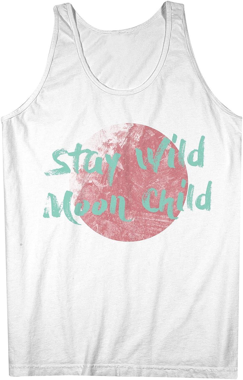 Stay Wild Moon Child 男性用 Tank Top Sleeveless Shirt