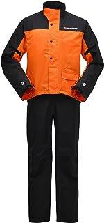 ヤマハ(YAMAHA) バイク用レインスーツ セパレート YAR19 CYBER TEX2 ダブルガード オレンジ M 90792-R037M