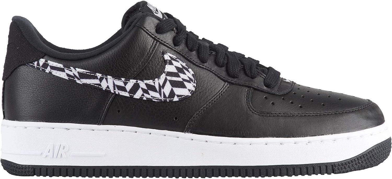 Nike Air Force 1 AOP Premium schwarz Weiß (10.5 D(M) US) B07GY16H5N Lass unsere Waren in die Welt gehen
