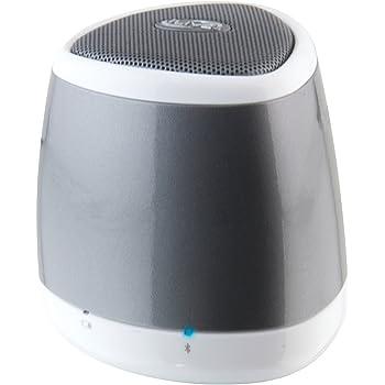 Amazon Com Ilive Isb23s Blue Portable Bluetooth Speaker Silver Home Audio Theater