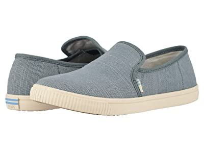 TOMS Clemente (Pebble Grey Heritage Canvas) Women