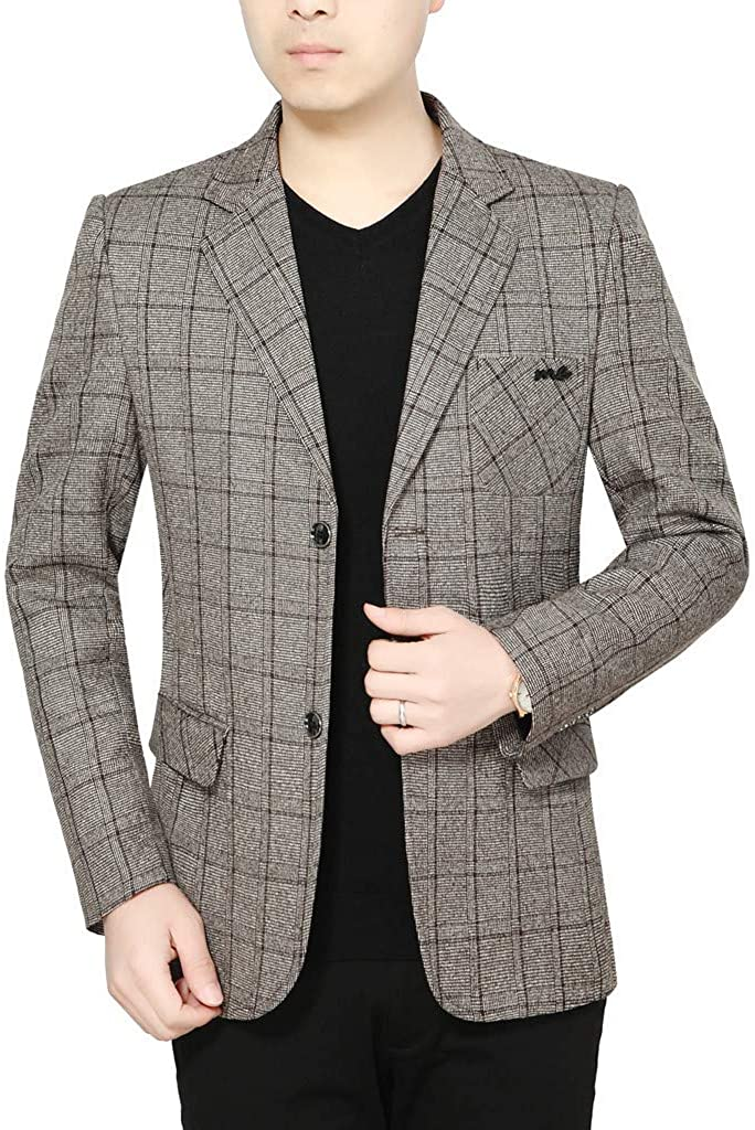 Casual Men Sport Coat Blazer Outwear Business Wedding Party Industry No. New Orleans Mall 1