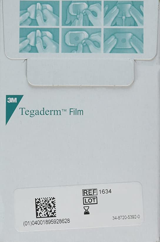 3M Tegaderm 1624W Transparent Film Dressing 2 3/8
