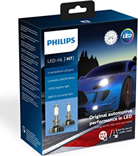 Philips X-tremeUltinon Gen2 H7 LED Bulbs 5800K +250% PX26d 11972XUWX2
