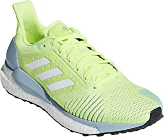 adidas Performance Womens Solar Glide ST Lace Up Running Shoes Trainers - Yellow