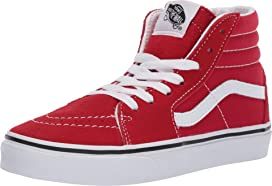105bf90b06 Vans Kids Sk8-Hi Zip (Little Kid/Big Kid) | Zappos.com