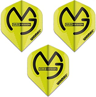MICHAEL VAN GERWEN WINMAU PRISM DELTA STANDARD SHAPE FLIGHTS GREEN BLACK