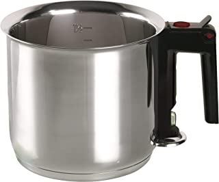 ELO 99414 Stainless Steel 1.6-Quart Double Boiling Simmer Pot, Induction Ready