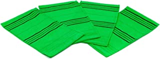 Korean Top Quality Exfoliating Bath Washcloth (4 PCS - Large) by TeChef Home / Made in Korea