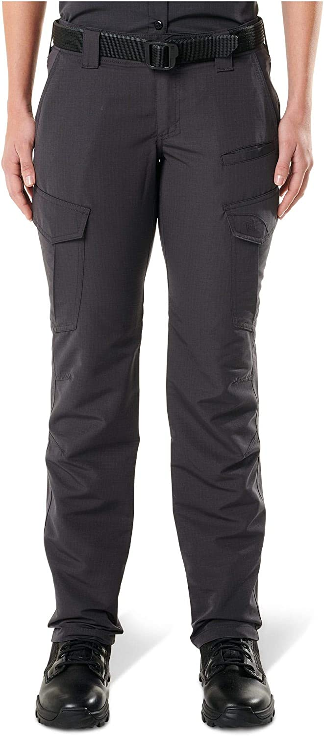 5.11 Tactical Women's Fast-Tac Cargo Professional Uniform Pants, Polyester Ripstop, Style 64419 : Clothing, Shoes & Jewelry