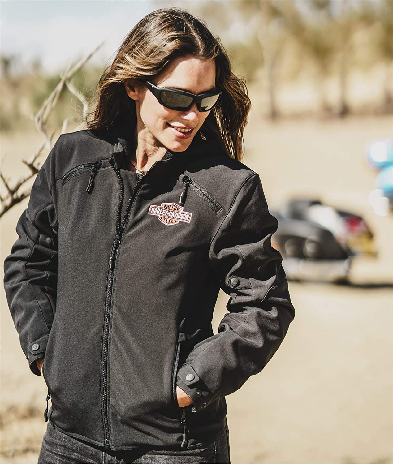 Harley Davidson Legend 3 In 1 Women S Functional Jacket Soft Shell Riding Ce L Auto