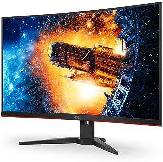 "AOC 31.5"" C32G2E 1ms 165Hz Full HD FreeSync Curved Monitor"