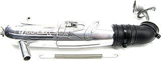 HoBao 1/8 Hyper 7 SS - TUNED PIPE, header & Muffler (87229 87378B 84067) OFNA